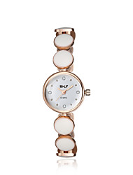2016 Jewelora Luxury Noble Cubic Zircon Ceramic Quartz Women Party Watches