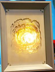 nous branchons papier créatif conduit sculpture 3d cavemen décoratifs de lumière de nuit de noël