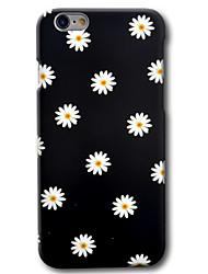Pour iPhone 8 iPhone 8 Plus iPhone 6 iPhone 6 Plus Etuis coque Motif Coque Arrière Coque Fleur Dur Polycarbonate pour Apple iPhone 8 Plus