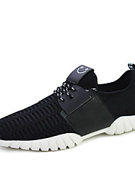 Men's Shoes Casual Fashion Sneakers Black / White/Black and White