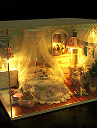 1шт поделок дом толщиной любят творческие подарки подарок на день рождения образовательные игрушки огни светодиодные лампы