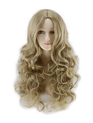 Hot Sell Cosplay Wigs Products Long Wave Synthetic Hair Wigs