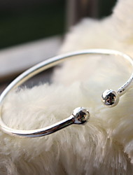 Silver Full-Star Adjustable Cuff Bangle Bracelet Christmas Gifts