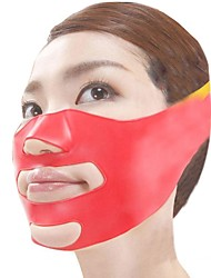 Japonský magické 3d masáž maska face-lift plastový silikonový materiál