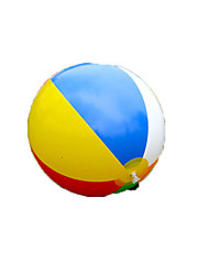 Colored inflatable ball Children play water6 color beach toys ball