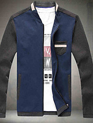 The fall of youth popular new men's men's jacket coat wear Liling Korean slim Japanese color jacket