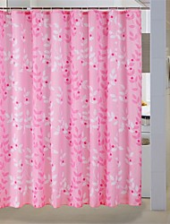 """Country Floral Pattern Shower Curtains W71""""×L71"""""""