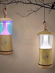 Creative Wood Outdoor Portable USB Night Light (Color-Changeable)