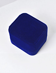 Elegant Blue Jewelry Box for Ring