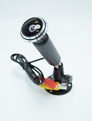 700TVL CCD Color mini câmera 1,78 milímetros fisheye lente grande angular câmera de segurança CCTV interior