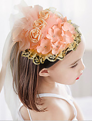Girls Hair Accessories,All Seasons Viscose Pink / White