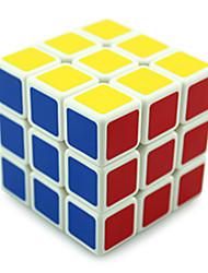 Shengshou® Cube velocidade lisa 3*3*3 profissional Nível Cubos Mágicos Preta / Branco Plástico