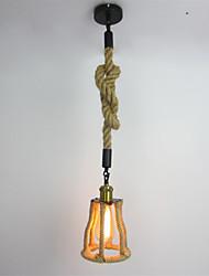 Max 60W Lampe suspendue ,  Traditionnel/Classique Rustique Retro Rétro Autres Fonctionnalité for Style mini MétalSalle de séjour Chambre
