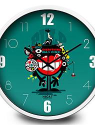Cute Cartoon Mouth Demon Children Bedroom Wall Clock