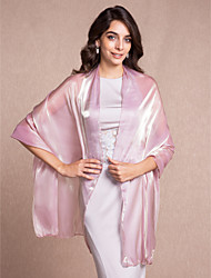 Wedding  Wraps / Shawls Shawls Tulle Burgundy / Ivory / White / Champagne / Gold / Jade / Lavender / Lilac / Blushing Pink / Royal Blue