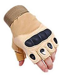 høj kvalitet mænds slid skridsikre handsker beskyttende taktisk halv finger handsker