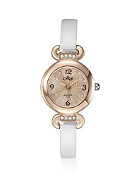2016 Luxury Noble Romantic Rose Gold Cubic Zirconia Luxury White Women Watch