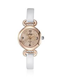 2016 mulheres brancas de luxo nobre romântica ouro rosa cúbicos zircônia de luxo assistir