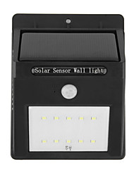 3W Lâmpada de LED a Energia Solar 400 lm Branco Frio LED Dip Decorativa / Impermeável / Recarregável <5V V 1 Pças.