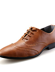 New Fashion British Style Men's Genuine Leather Soft Breathable  Dress Shoes Slip-on Man's Flats for Formal Occasions