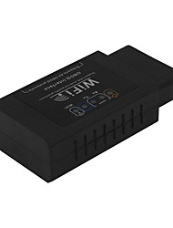 OBD ELM327 iphone поддерживает Android крутящий момент WiFi Black Label