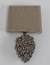 personnalité créative tête simple lampe à paroi métallique amercian industrielle en bois pour la lumière du mur décorer