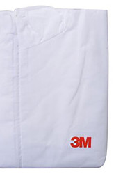 3m 4515 Protective Clothing Chemical Protective Clothing Dust-Proof Paint Anti-Chemical Suits Siamese White Hooded