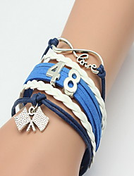 Love 8 Shape Layered Wrap Bracelet