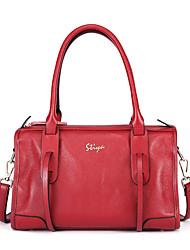 Stiya Fashion Vintage Business Genuine Leather Multifunction Large Capacity Lady Two Ways Design Shoulder Bag