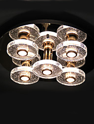 Bubble Column Crystal Lamp Sitting Room Dome Light LED