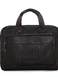 Men Cowhide Formal / Casual / Office & Career / Shopping Laptop Bag