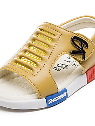 Boys' Shoes Casual Microfibre Sandals Summer Comfort / Open Toe Others Blue / Yellow