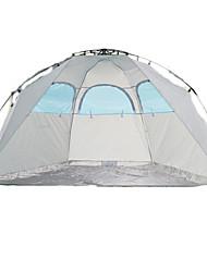 2 personnes Abri et Toile Tente Double Tente automatique Une pièce Tente de camping <1000mmEtanche Respirabilité Résistant aux