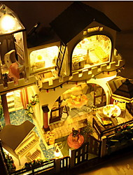 поделки домик xingdao праздник собран вручную модель дом вилла