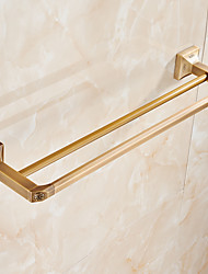 Towel Bar / Brushed / Wall Mounted /60*15*10 /Brass /Contemporary /60 15 1.21