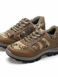 Sapatos Aventura Masculino Marrom / Cinza Lona