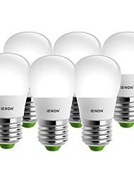 IENON® 6 pcs 5W E27 LED Globe Bulbs S14 8 SMD 400-450 lm Warm White / Cool White Decorative AC 100-240 V