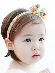 Girls Hair Accessories,All Seasons Viscose Gold / Silver