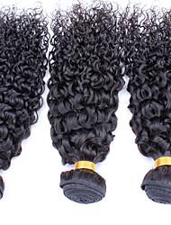 Tissages de cheveux humains Cheveux Malaisiens Bouclé 12 mois tissages de cheveux