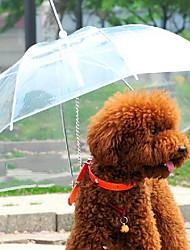 Chien Parapluie Animaux de Compagnie Transporteur Etanche Portable Solide Transparente