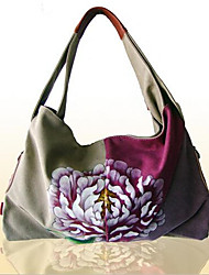 Women PVC Formal Tote Purple