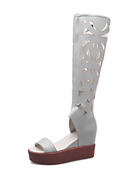 Women's Shoes Suede / Leather Stiletto / Platform / Slingback / Motorcycle Boots / Gladiator / Comfort / Combat Boots /