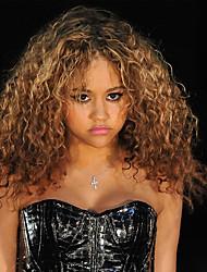 коричневый цвет косплей парики Afro синтетические оптовые Короткие вьющиеся парик партии Cosplay