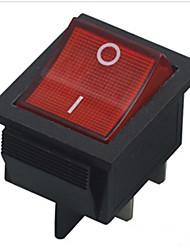 interruptor de botão kcd4 com o navio da lâmpada oscilante