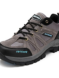 Men's Climbing Athletic Shoes Large size 45 46 47 48 Winter Round Toe / Flats Leather / Tulle Outdoor / Athletic