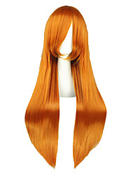 Perruques Cosplay-Asuka-Bleach-Orange-80