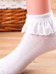 Girls Socks & Stockings,All Seasons Cotton Blue / Pink / White