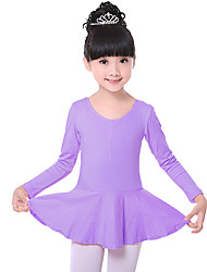 Devemos vestidos de balé de crianças treinando vestido de balé com 1 peça de balé