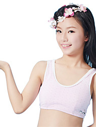 XLY Development Puberty Teenagers Girl's Comfortable Cotton Wireless Sports Bra Underwear. Item. Thin Cup Bra.Code 6029