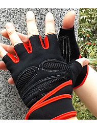 Extended Wrist Fitness Gloves Half Finger Tactical Outdoor Riding Motorcycle Gloves